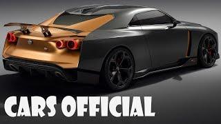 Nissan GT-R50 by Italdesign + 3.8-liter V6 VR38DETT engine + Crisp Exterior + Italian Leather