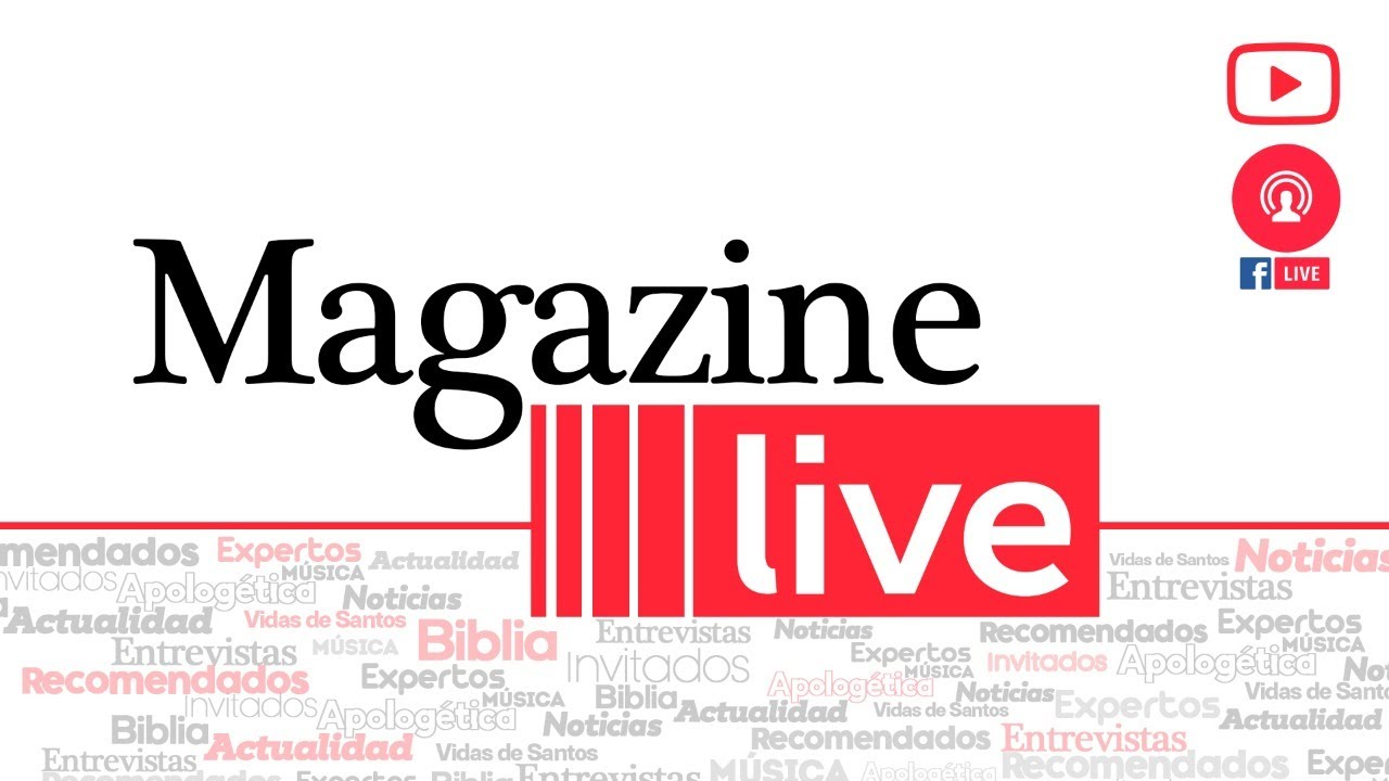 MAGAZINE LIVE viernes 3 de julio de 2020 con el padre Cristian Echeverry