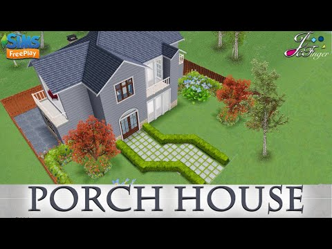 Sims Freeplay 🏡| PORCH HOUSE |🏡 By Joy