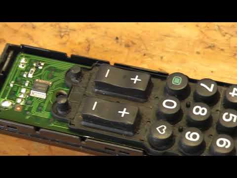 Repair non working buttons on Sony TV remote