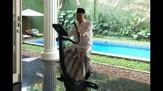 Ma'ruf Amin Olahraga Jelang Pelantikan