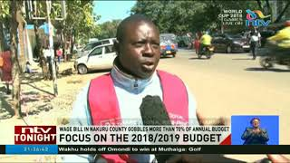 Wage bill in Nakuru county gobbles more than 70% of annual budget