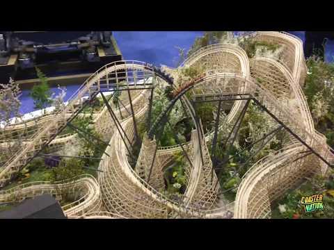 GCI Coaster Model at IAAPA - Great Coasters International