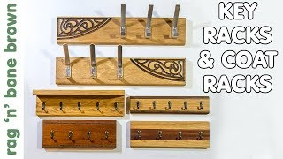 Making Key Racks & Hat & Coat Racks - Scrap Wood Project