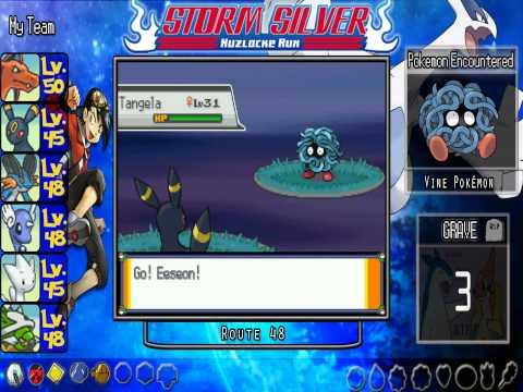 ★ Pokemon Storm Silver Nuzlocke Run ★ Part 24-Safari Zone Been Attacked By Team Rocket! Part-2