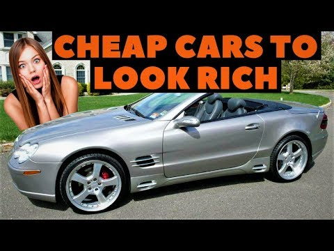 6 Cheap Cars that make you look RICH Under 15K