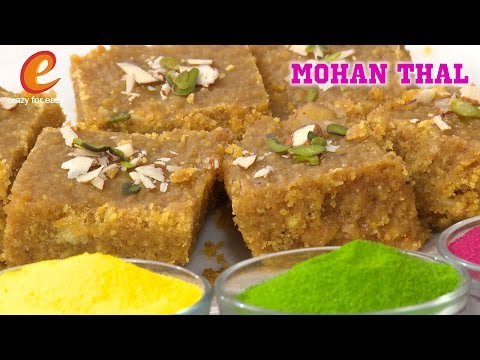 Recipe In EnglishMohanthal RecipeHoli Sweets Besan Barfi Recipe  By Crazy for easy
