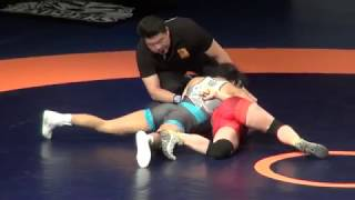 2019 Canadian Trial WW53kg Amber Weibe (BMWC) vs Jayde Davis (Montreal)