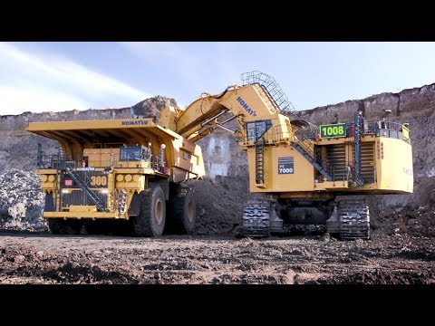 Today's Mining Operations Leverage Automation And Electrification   Komatsu