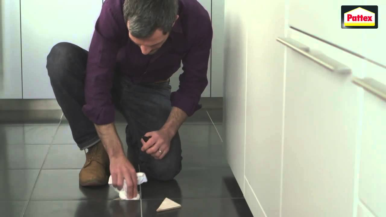 how to repair cracks in tile floor