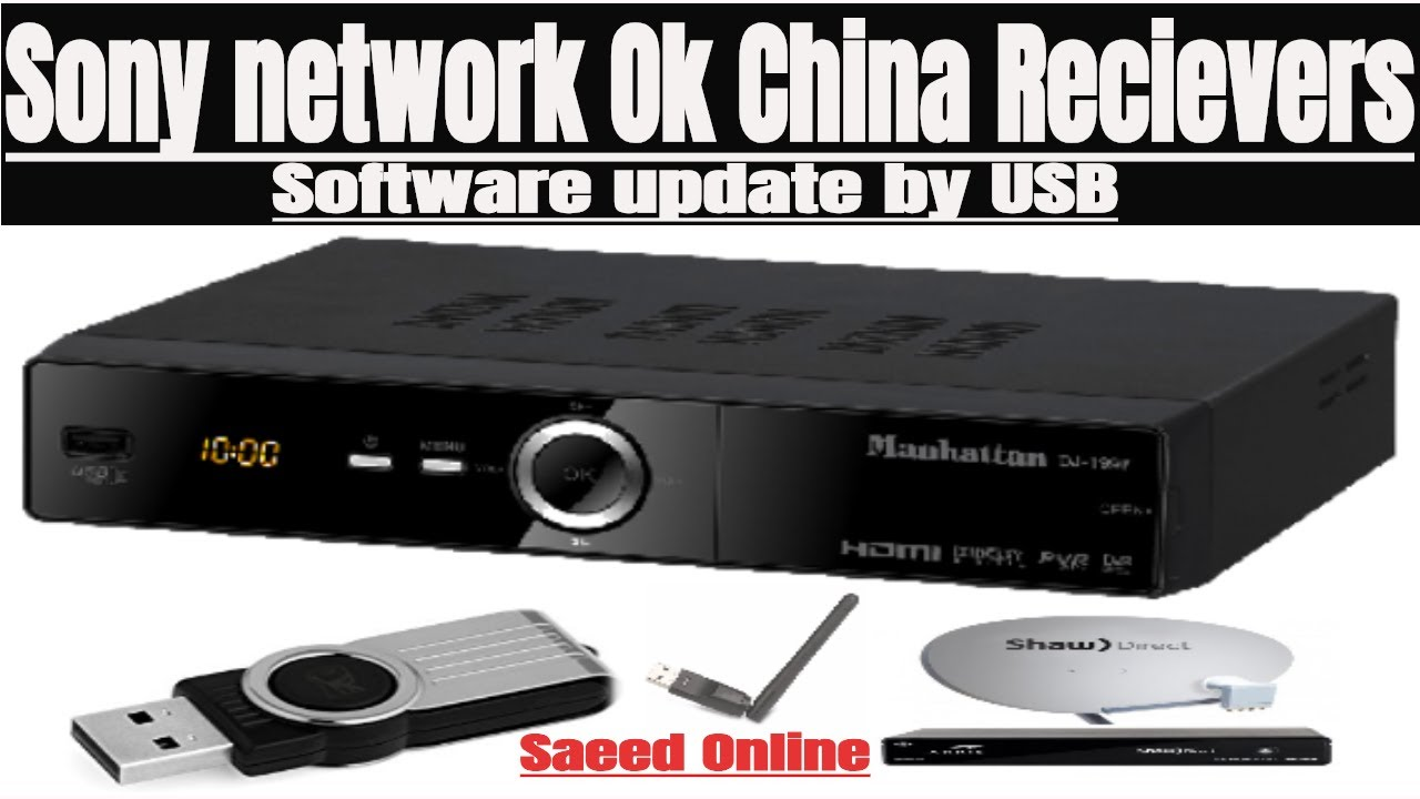 all china receiver new software 2018