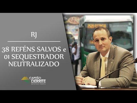 RJ - 38 REFÉNS SALVOS e 01 SEQUESTRADOR NEUTRALIZADO
