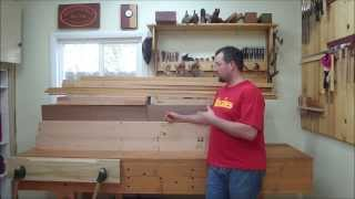 Split Top Roubo Part 1 Episode #26 Slab Preparation And Workbench Construction