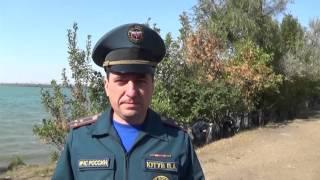 Ставропольские сотрудники МЧС очистили прибрежные зоны краевых водоёмов