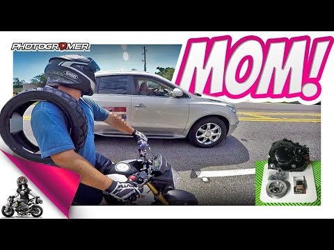 Grom Moms & Replacing my Clutch!
