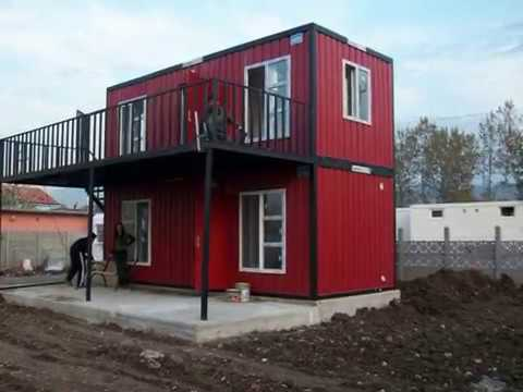 2 story container home container house ideas youtube. Black Bedroom Furniture Sets. Home Design Ideas