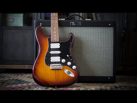 Fender Player Series Stratocaster HSH Electric Guitar - Demo and Features