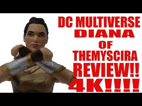 DC MULTIVERSE WONDER WOMAN MOVIE DIANA OF THEMYSCIRA FIGURE REVIEW 4K!!