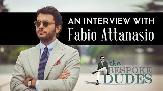 Gambar cover Fabio Attanasio Interview - The Bespoke Dudes