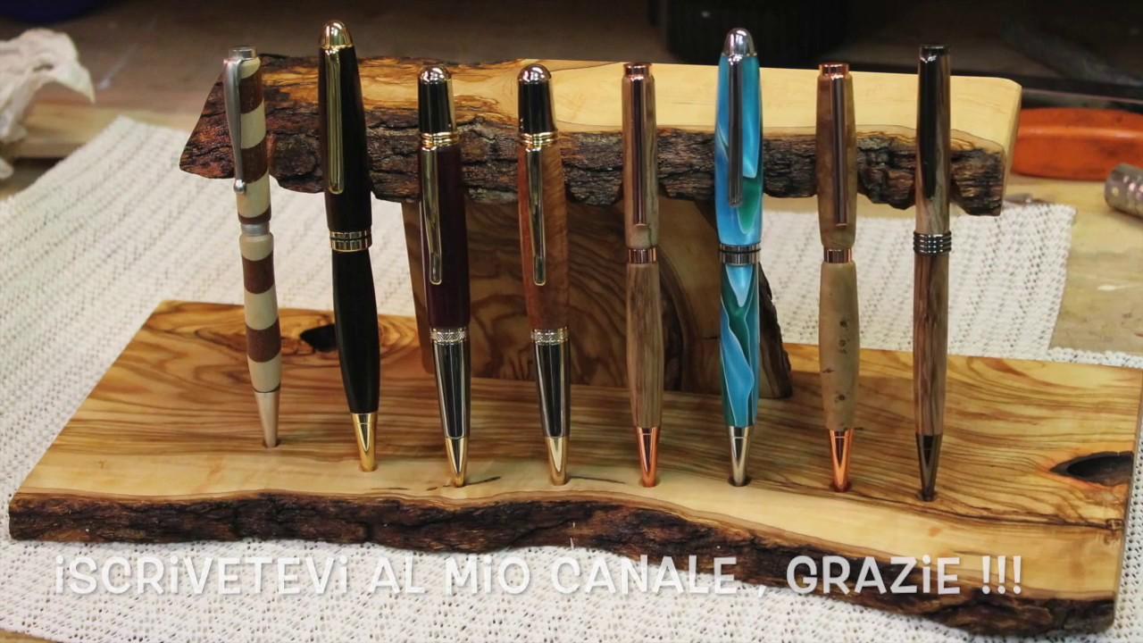 Espositore porta penne in legno fai da t exhibitor for Fioriere fai da te in legno