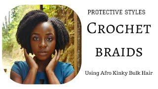 CROCHET BRAIDS: AFRO KINKY BULK HAIR