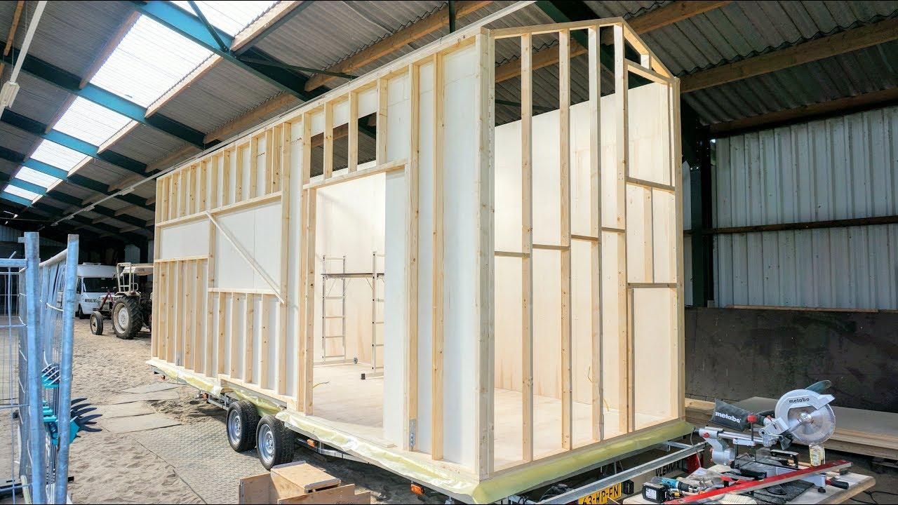 Tiny House Breda De Complete Bouw Van Start Tot Finish