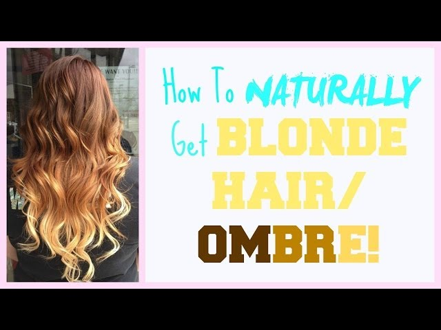 How To Dye Your Hair With Lemon Juice 15 Steps With Pictures