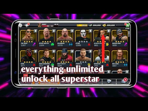How To Download Wwe Mayhem Mod Apk   Unlimited Money And Gold   Unlock Every Superstar