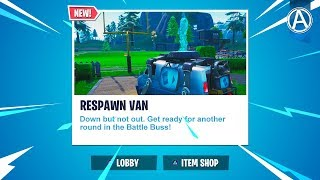 "NEW ""RESPAWN VAN"" Update! // 2000+ Wins // Use Code: byArteer (Fortnite Battle Royale LIVE)"