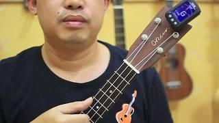 Học đàn Ukulele Bài 2 - Hướng dẫn lên dây đàn