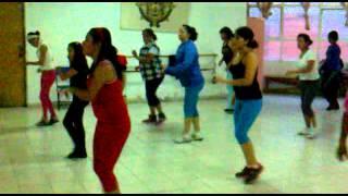 Ritmos Latinos con Katya Flores  clase sambale