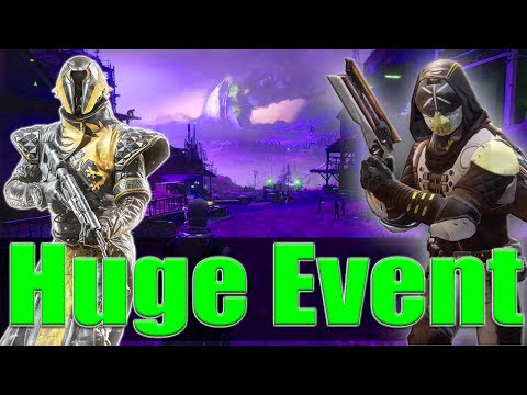 Destiny 2 Huge Social Space Event at the...