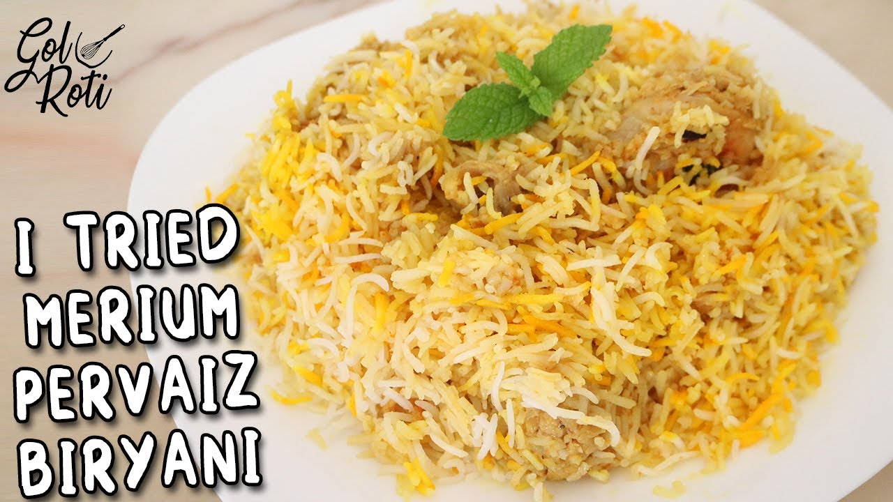 I TRIED MERIUM PERVAIZ STUDENT CHICKEN BIRYANI - HONEST REVIEW - Gol Roti