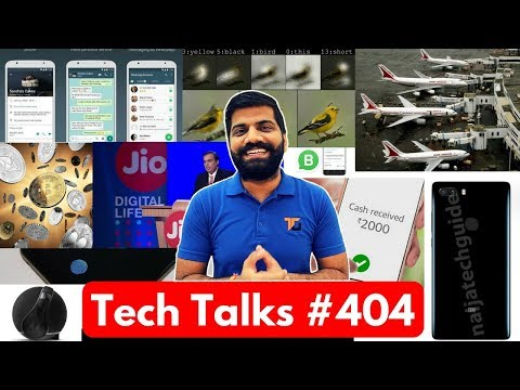 Tech Talks #404 - Whatsapp Business, Amazon Pay, In Flight Calls India, Vivo X20 Plus, Razer Phone 2