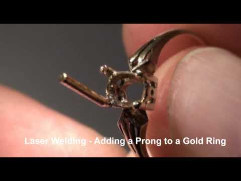 Laser Welding Retipping Gold Amp Diamond Ring Doovi