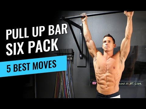 5 Pull Up Bar Exercises to Get Six Pack Abs Jump Rope Workout