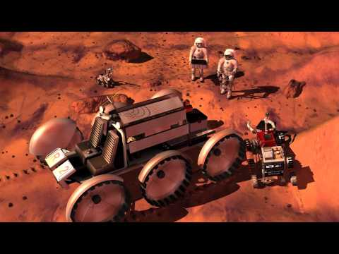 Welcome to Mars - Video for kids space camp