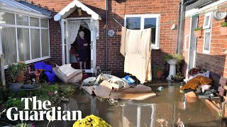 Floods submerge Doncaster village: 'I had no warning at all'