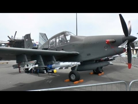 Paris Air Show 2015: IOMAX debut new Archangel Border Patrol Aircraft