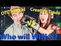 IQ Option Strategy OTC vs Real Account 2017 Who Will WIN With Binary Option Creative Trade SYSTEM