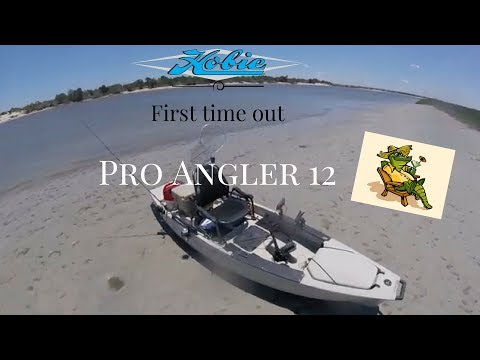 Got A Deal On A 2014 Hobie Pro Angler 12 And Took It Out For The First Time.