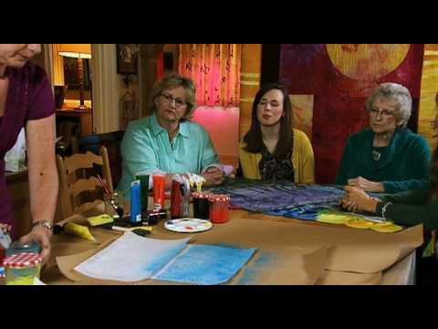Textile Art With Lutradur - Ineke Berlyn - Fabric Art- Colouricious