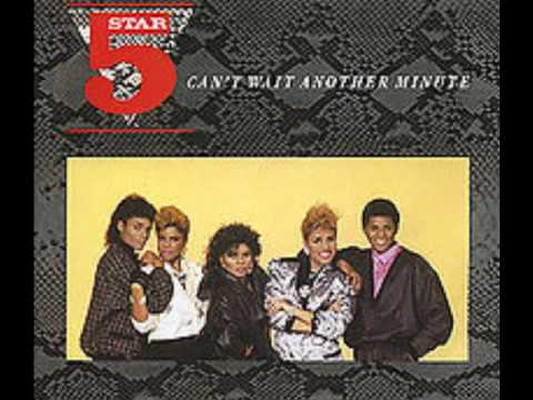 Five Star Can't Wait Another Minute [Extended Dance Version]