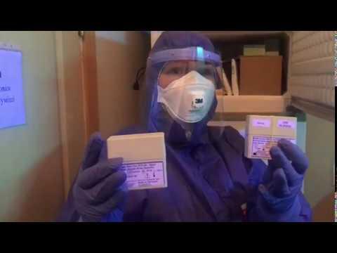 Чернівецький Промінь: Сергій Осачук показав, як у чернівецькій вірусологічній лабораторії проводять тести на коронавірус