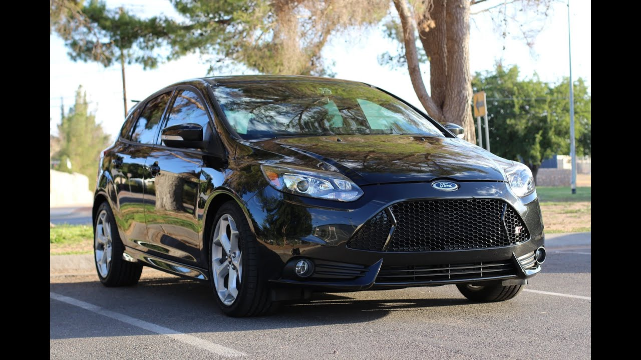 Ford Build Your Own >> My 2013 Ford Focus ST - ST3 - YouTube