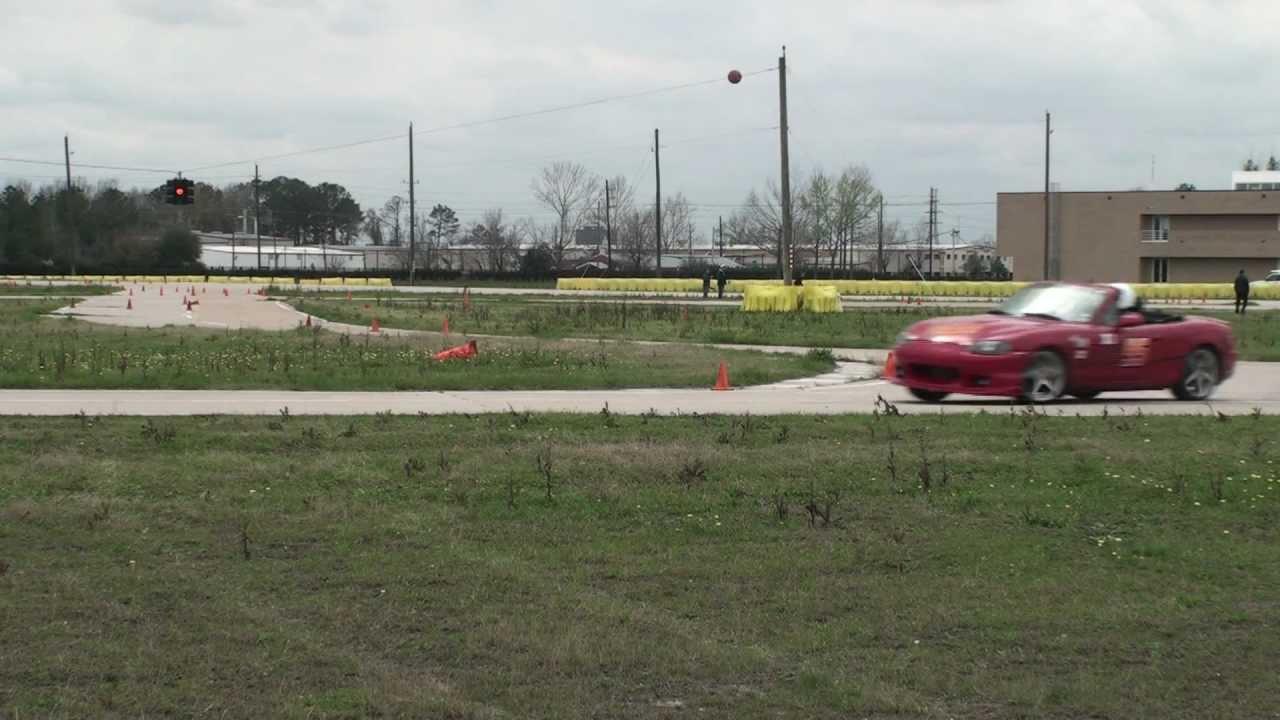 Houston Bmw Cca Autocross Blooper Reel Youtube
