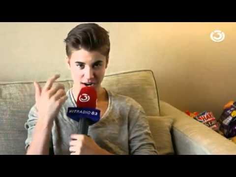 Awkward Justin Bieber interview