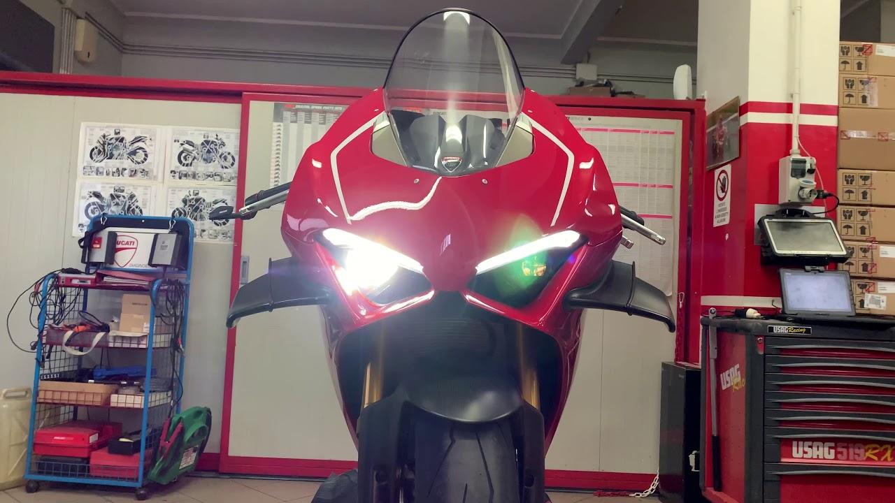 Ducati Panigale V4R Full Akrapovic  234 Cavalli Adrenalina Pura 4k