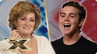 17 year old RAY QUINN sings Dean Martin! | The X Factor UK