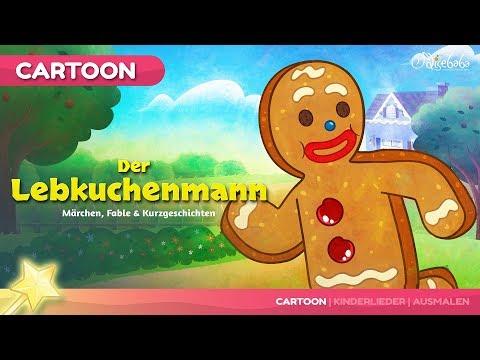 Der Lebkuchenmann | Gute Nacht Geschichte